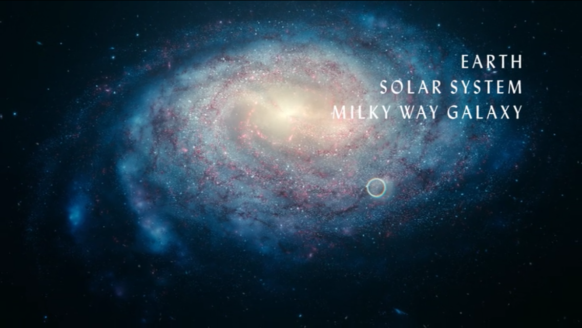distance of milky way and the solar system - photo #16